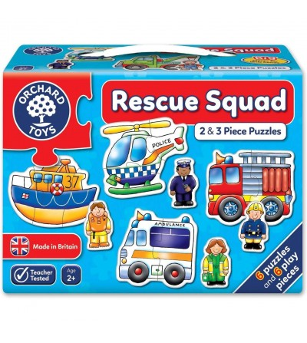 Set 6 puzzle Orchard Toys - Echipa de salvare - Puzzle-uri
