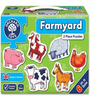 Set 6 puzzle Orchard Toys - Ferma - Puzzle-uri