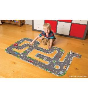 Puzzle gigant de podea Orchard Toys - Traseu masini - Puzzle-uri