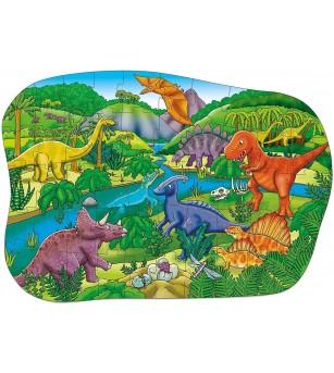 Puzzle de podea Orchard Toys - Dinozauri - Puzzle-uri