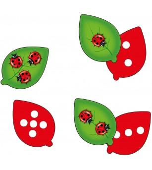 Joc educativ Orchard Toys - Buburuzele - Jocuri de observație și atenție