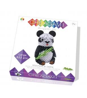 Creagami, panda - Lucru manual