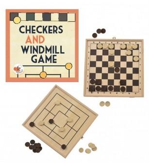 Moara si dame, jocuri de societate Egmont toys - Jocuri de masă