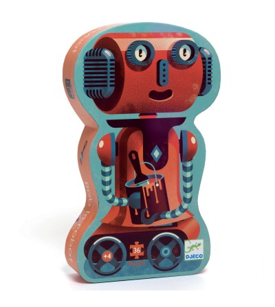 Puzzle Djeco - Robotul Bob - Puzzle-uri