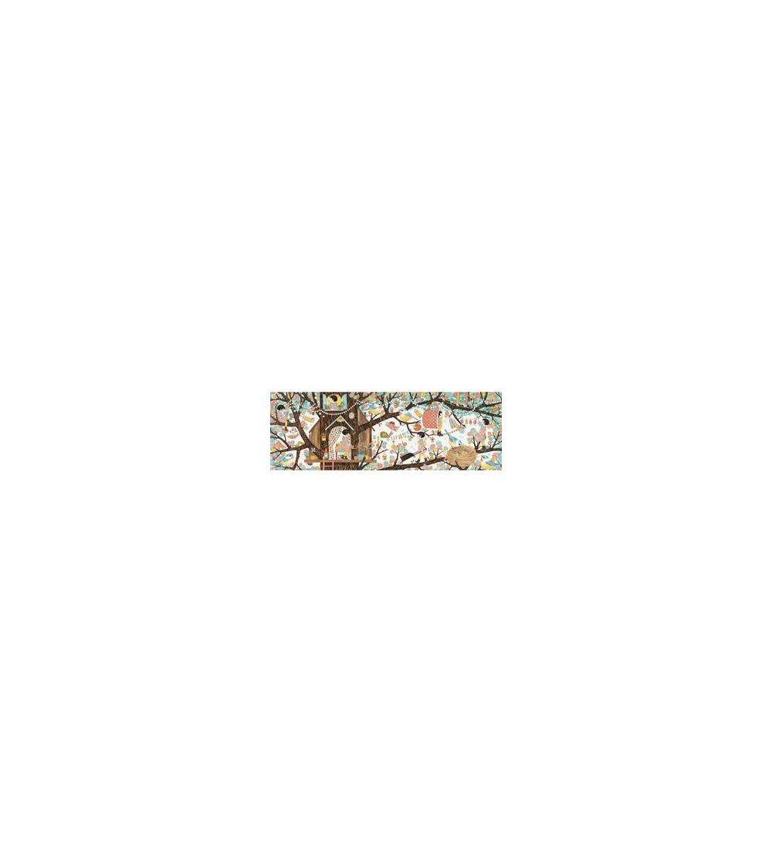 Puzzle Djeco Casuta din copac, 200 piese - Puzzle-uri