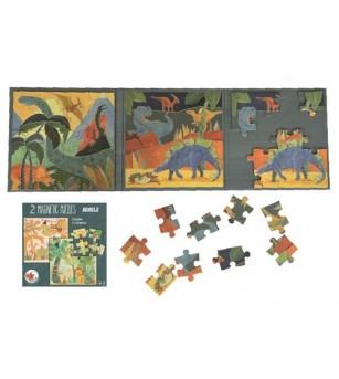 Puzzle magnetic Egmont toys, Dinozauri - Puzzle-uri