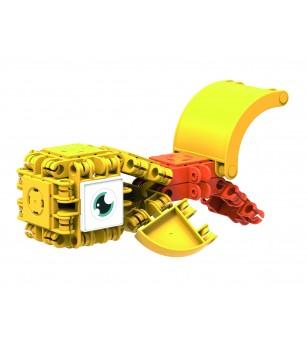 Set de construit Clicformers- Craft, galben - Jocuri construcție