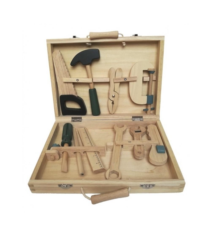 Set de unelte din lemn, Egmont toys - Seturi de menaj si bricolaj copii