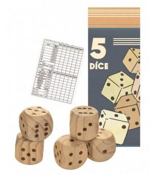 Zaruri mari din lemn, Egmont toys - Jocuri de masă