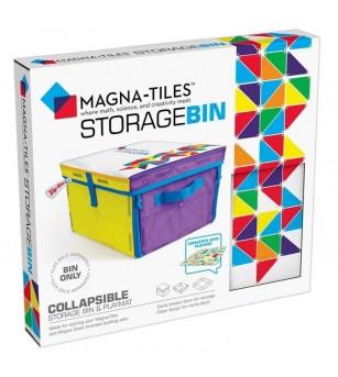 Cutie de depozitare si covor de joaca Magna -Tiles - Jucarii magnetice