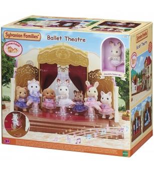Sylvanian Families 5256 - Teatrul de balet - Figurine