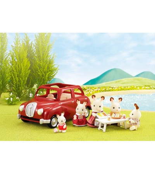 Sylvanian Families 5273 - masina rosie de familie - Figurine