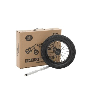 Kit tricicleta copii fara pedale negru, Trybike - Biciclete, trotinete