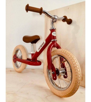 Bicicleta fara pedale vintage, rosu, Trybike - Biciclete, trotinete