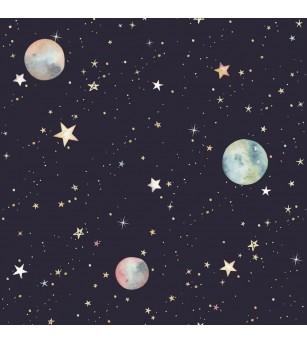 Tapet camera copii Dekornik, Cosmosul - Tapet camera copii