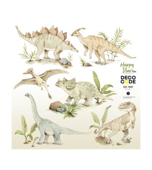 Sticker decorativ Dekornik , Happy Dinozauri - Stickere perete