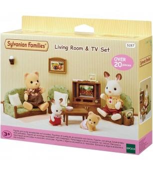 Sylvanian Families 5287 - mobilier sufragerie - Figurine