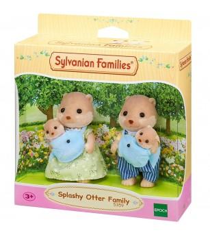 Figurine Sylvanian Families 5359 - Familia Vidra - Figurine