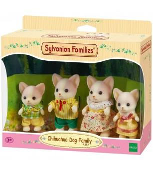 Figurine Sylvanian Families 4387 - Familia cateilor Chihuahua - Figurine