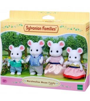 Figurine Sylvanian Families 5308 - Familia soriceilor Marshmallow - Figurine