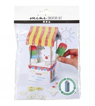 Mini kit creativ - standul de inghetata - Crafturi