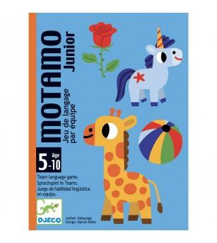 Joc cu carti Djeco, Motamo Junior - Jocuri de memorie și asociere