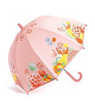 Umbrela colorata Djeco Flori - Umbrele copii