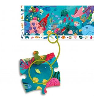 Puzzle observatie Djeco, Acvatic - Puzzle-uri