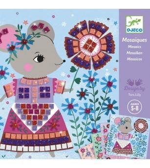 Mozaic Djeco, Animale de companie - Jucării creativ-educative