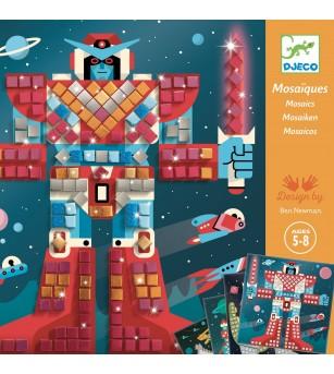 Mozaic Djeco, In spatiu - Jucării creativ-educative