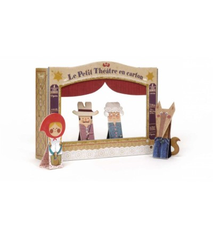 Teatru cu papusi Scufita rosie, Londji - Marionete
