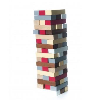 Turn din lemn, jucarie handmade Marc toys - Jocuri de îndemânare