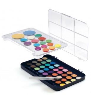 Paleta artistului, 50 de culori guase, Djeco - Desen și pictură