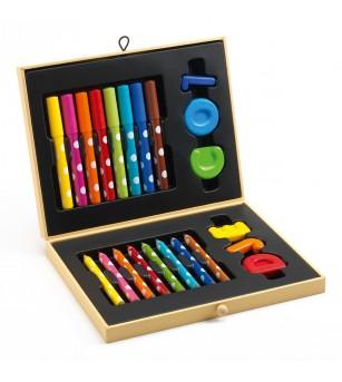 Cutie culori pentru primele desene Djeco - Desen și pictură