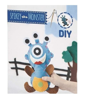 Set creativ - Kit din fetru DIY - Monstrulet Spikey - Crafturi