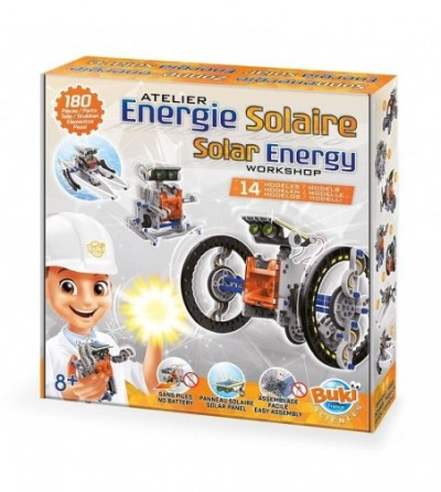 Joc educativ Buki France - Energia solara 14 in 1