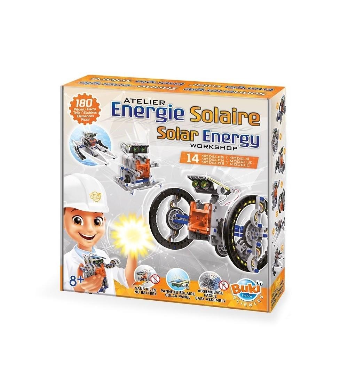 Joc educativ Buki France - Energia solara 14 in 1 - Știință și tehnică