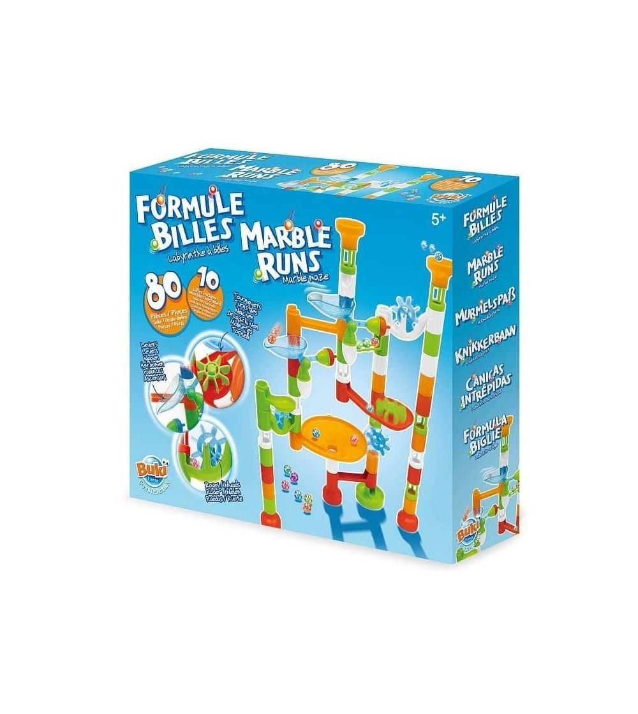 Joc de constructie Buki France - labirint cu bile, 80 piese - Jocuri construcție