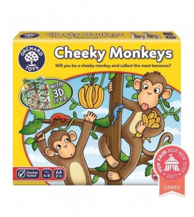 Joc educativ - Cheeky Monkeys