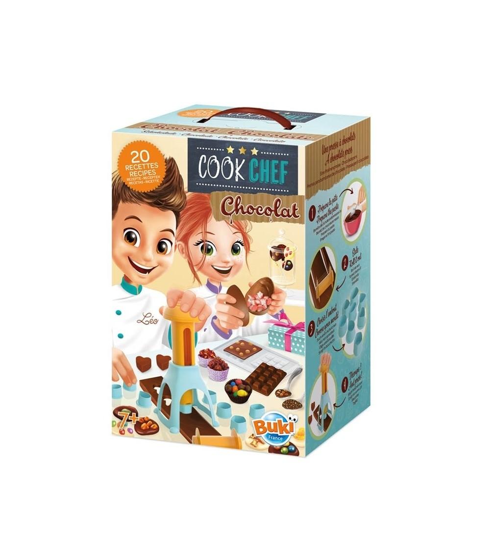 Joc educativ Buki France - Laboratorul de ciocolata - Bucătărie copii