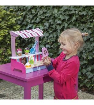 New Classic Toys - Magazin inghetata - Case de marcat de jucarie si jucarii supermarket
