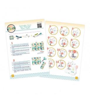 Buki France - Masina de cusut cu accesorii - Seturi de menaj si bricolaj copii