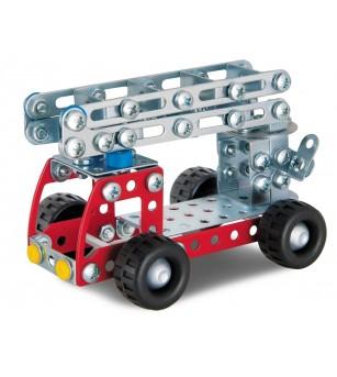 Set Eitech de constructie - Masina de pompieri - Jocuri construcție