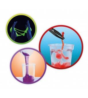 Joc educativ Buki France - Experimente Mega Slime - Știință și tehnică