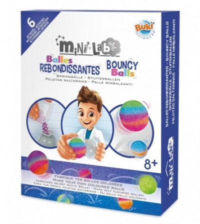 Kit Buki France - Mini - laboratorul de mingi săltărețe