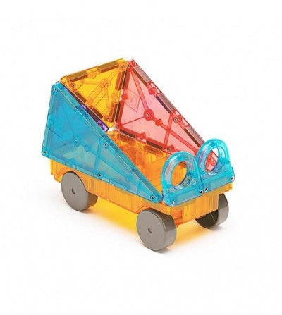 Set magnetic Magna-Tiles Clear Colors- 48 piese - Jucarii magnetice