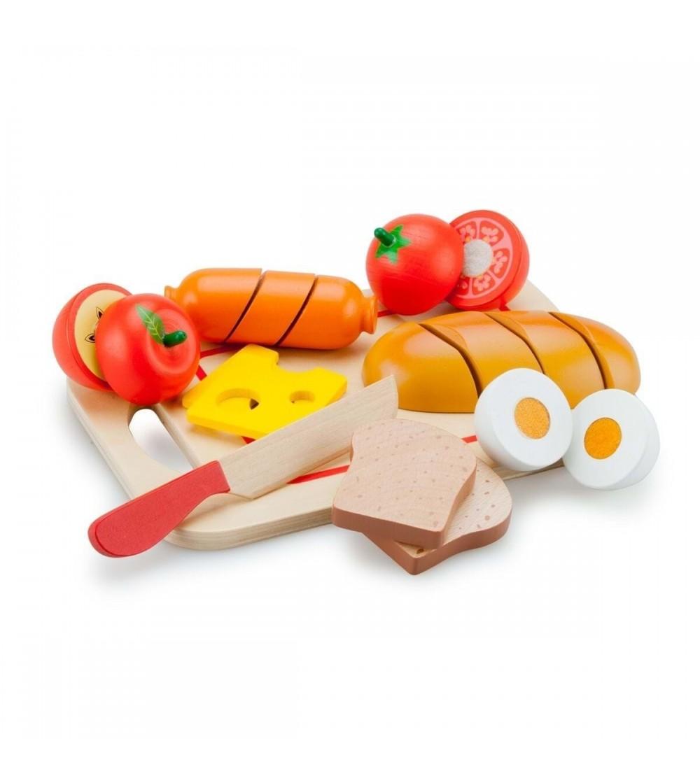 Platou cu diferite alimente - Bucătărie copii