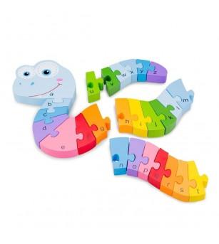 Puzzle Alfabet - Sarpe - Puzzle-uri