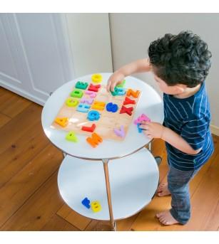 Puzzle Alfabet - Litere Mari - Puzzle-uri