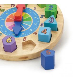 Puzzle din lemn - Ceas - Puzzle-uri